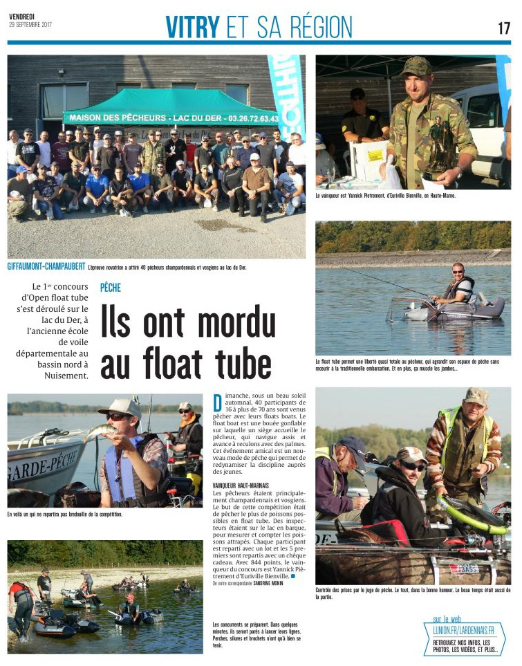 article float tube 29 septembre 2017